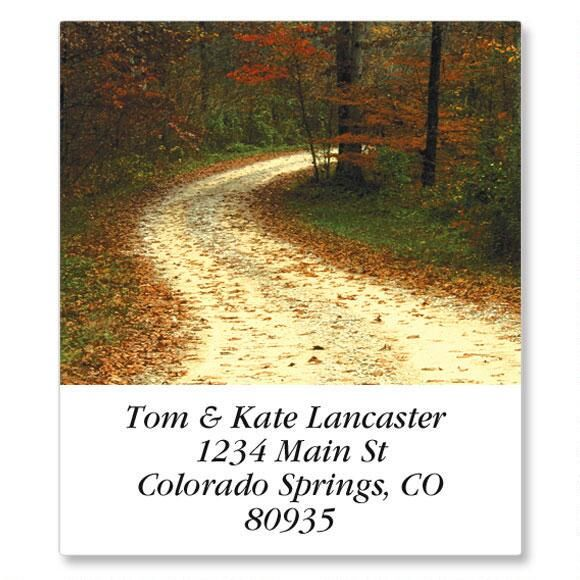 Ramblin Roads Select Address Labels  (24 Designs)