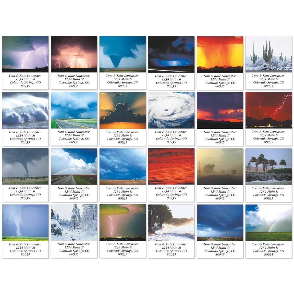 Stormchaser Select Return Address Labels  (24 Designs)