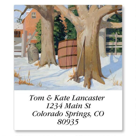 Country Living Select Address Labels  (12 Designs)