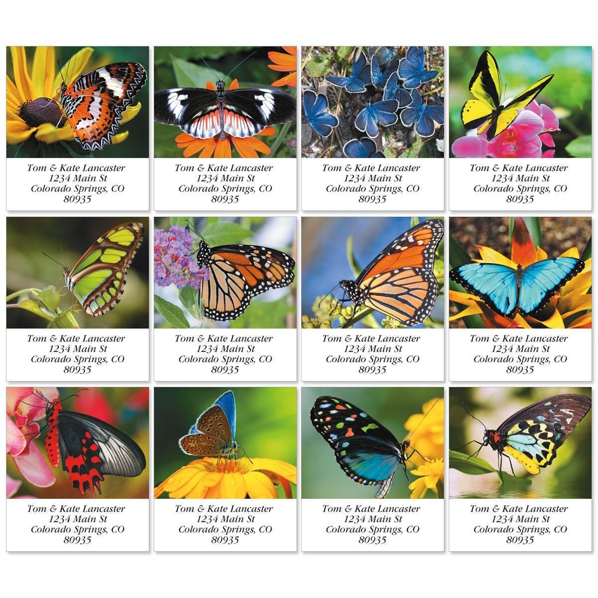 Flights of Fancy Select Address Labels  (12 Designs)