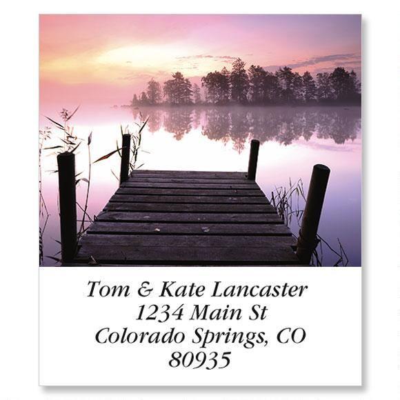 Quiet Moments II Select Return Address Labels  (8 Designs)