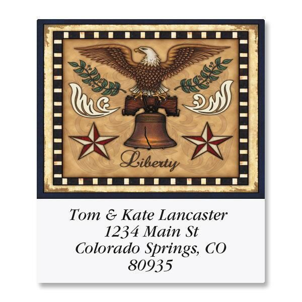 Liberty Select Return Address Labels  (6 Designs)