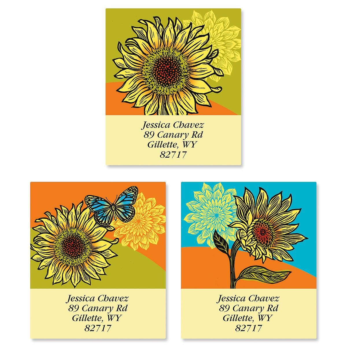 Hello Sunshine Select Address Labels  (3 Designs)