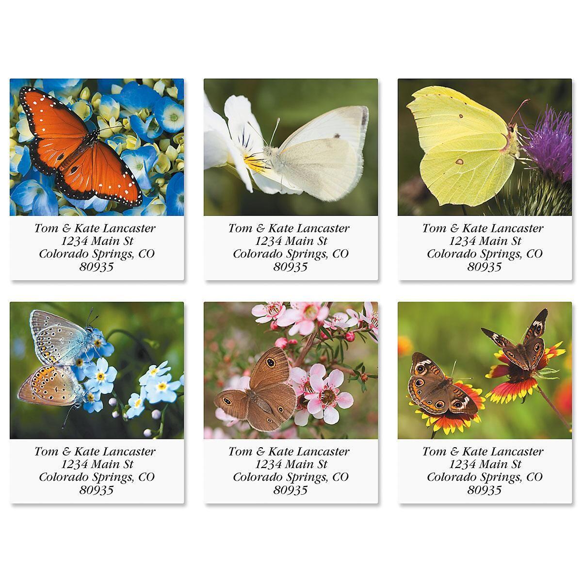 Beauty In Flight Select Address Labels  (6 Designs)