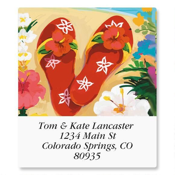 Tropicana Select Return Address Labels  (6 Designs)