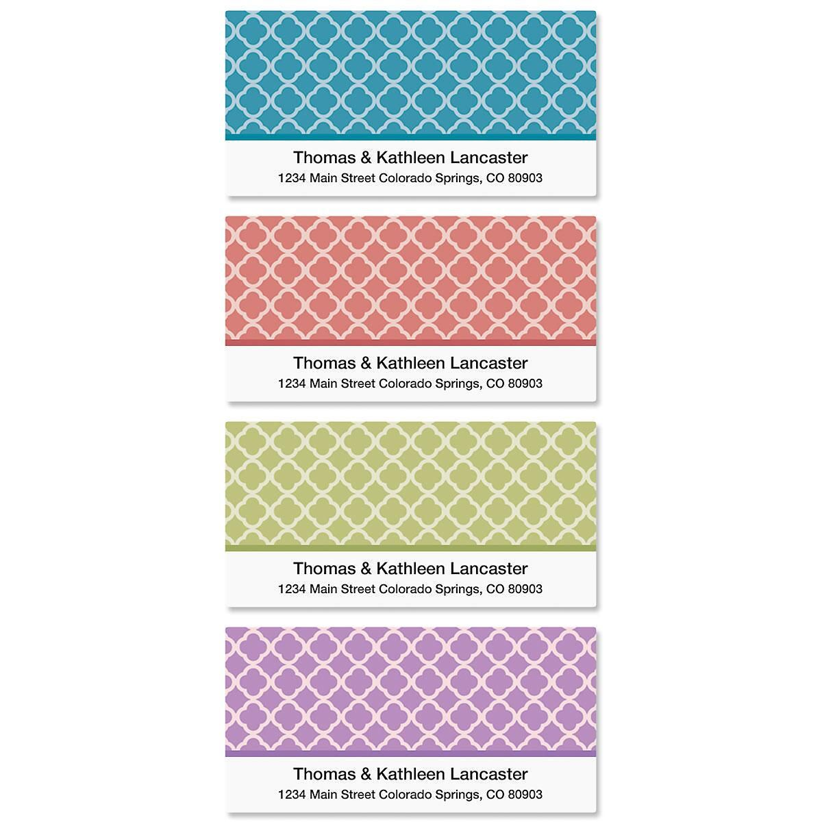 Renaissance Deluxe Address Labels   (4 Designs)