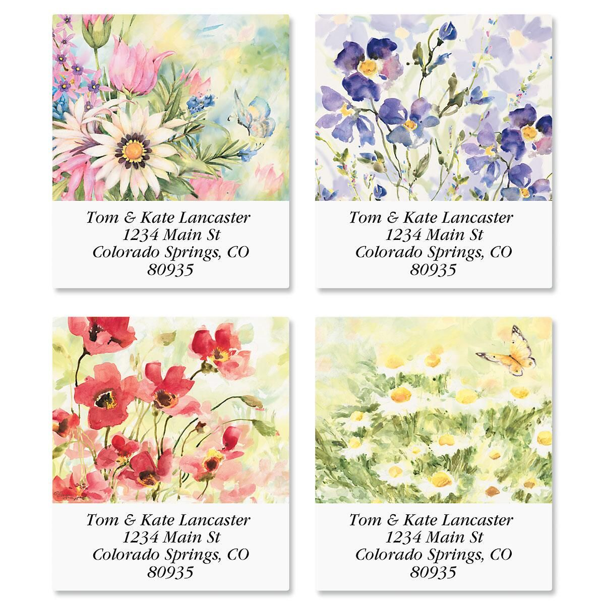 Nature's Grace Select Return Address Labels  (4 Designs)