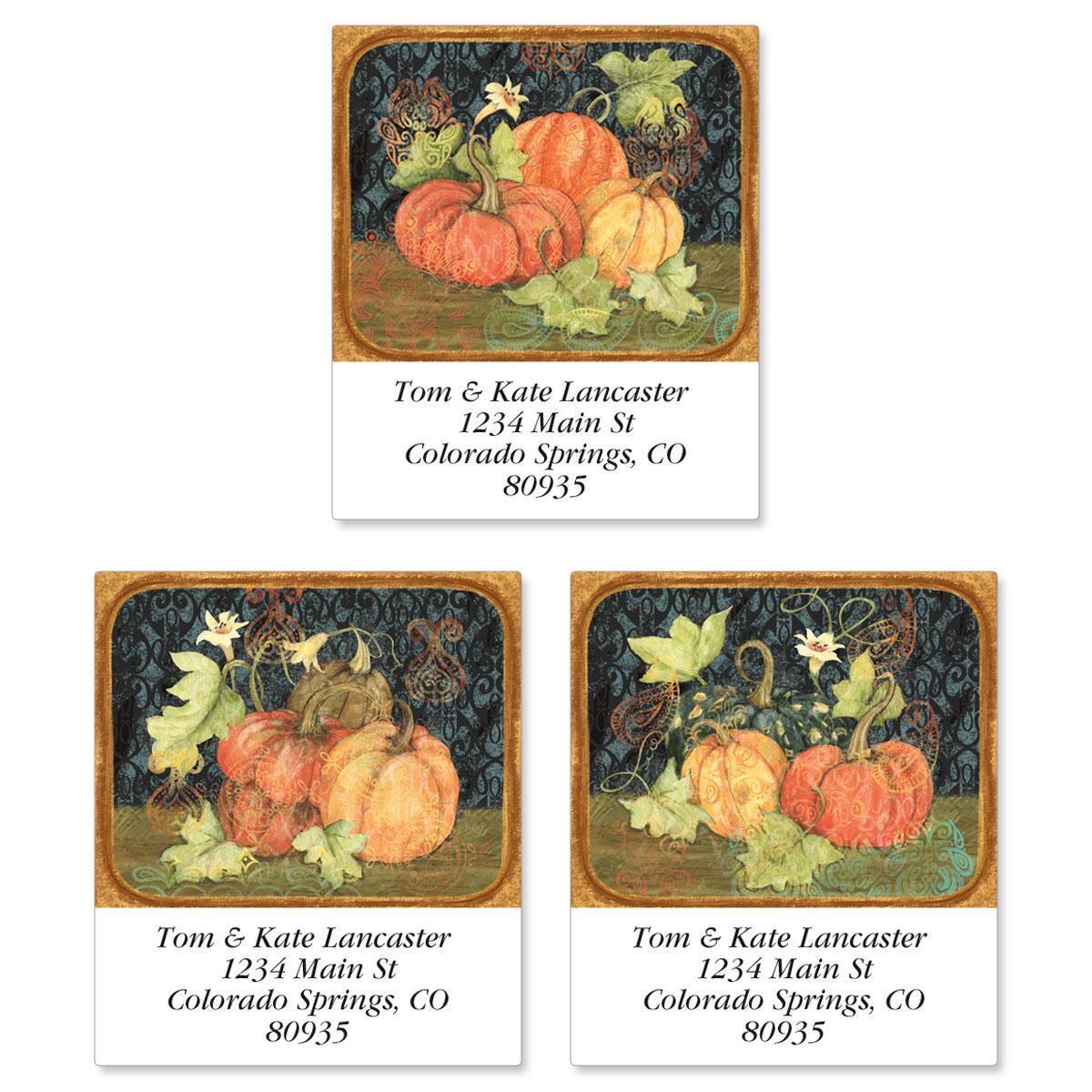 Fruitful Fall Select Return Address Labels  (3 Designs)