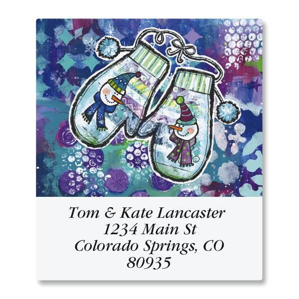 Happy Life Select Return Address Labels  (12 Designs)