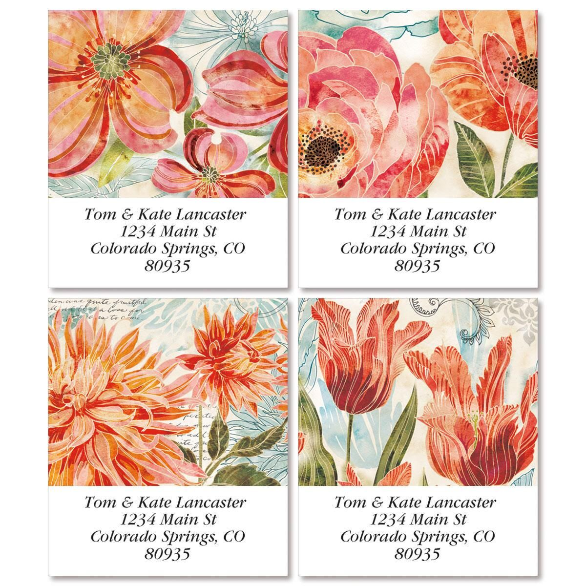 Floral Daydream Select Address Labels  (4 Designs)