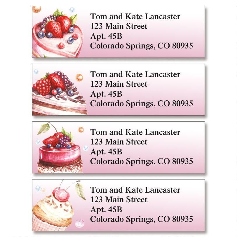 Stay Sweet Classic Return Address Labels  (4 Designs)