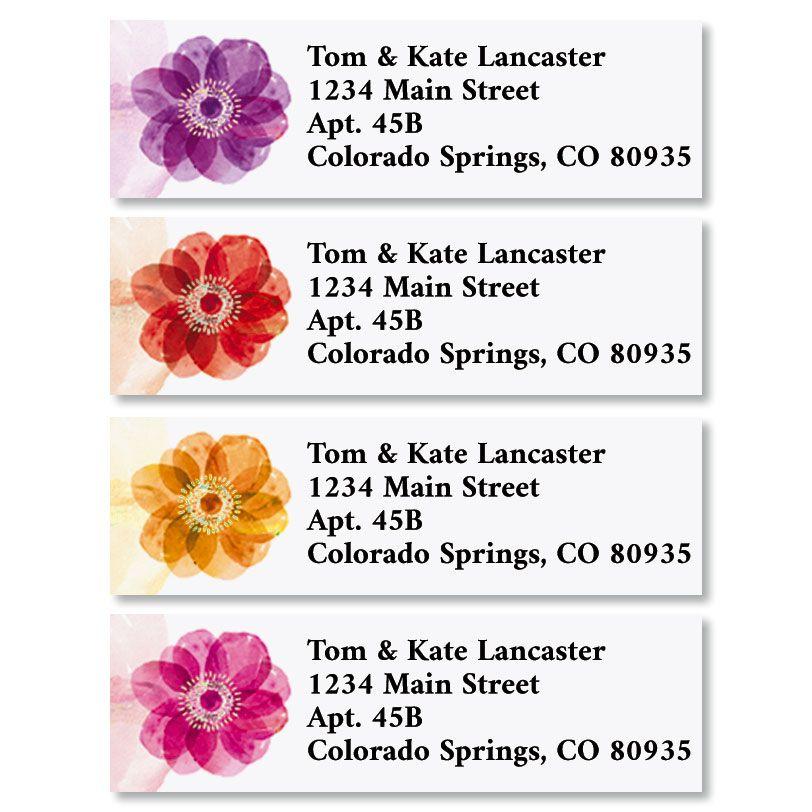 Days of Beauty Classic Return Address Labels (4 Designs)