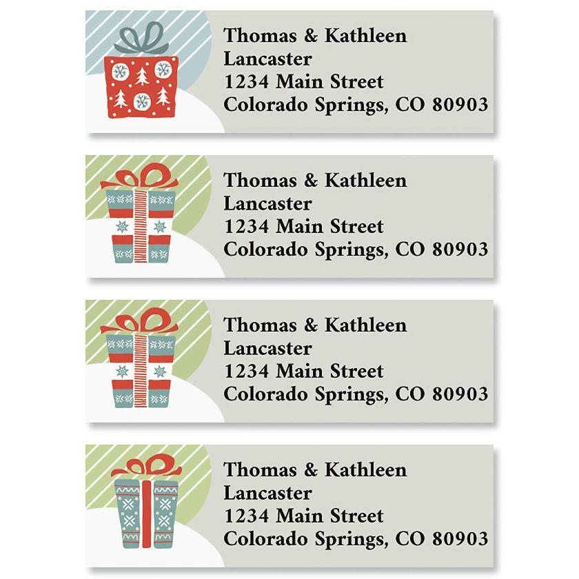 The Gift Classic Return Address Labels (4 Designs)