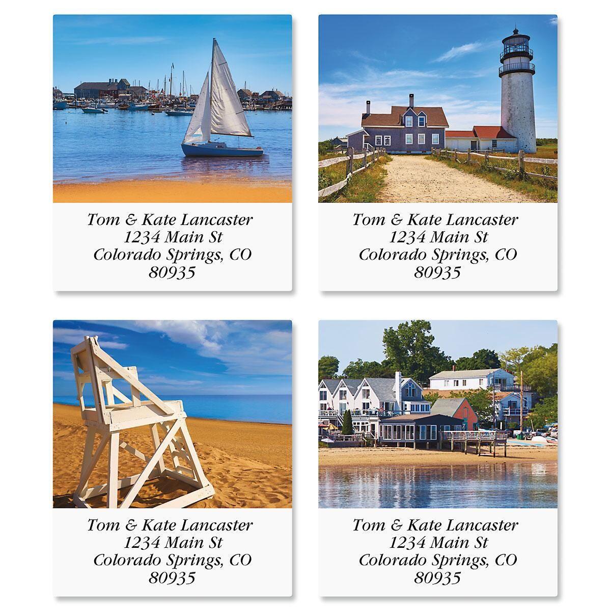 Cape Cod Select Return Address Labels  (4 Designs)