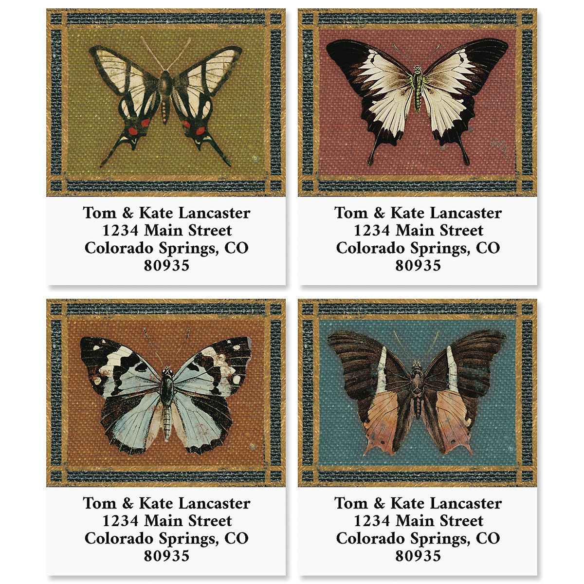 Poetic Garden Select Address Labels (4 Designs)