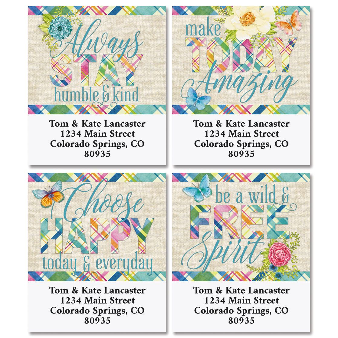 Bright Days Select Address Labels