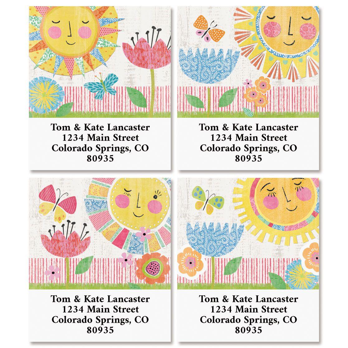 Hello Sunshine Select Address Labels