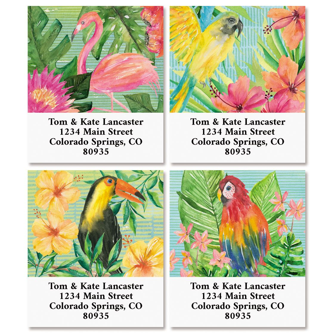 Tropical Delight Select Address Labels