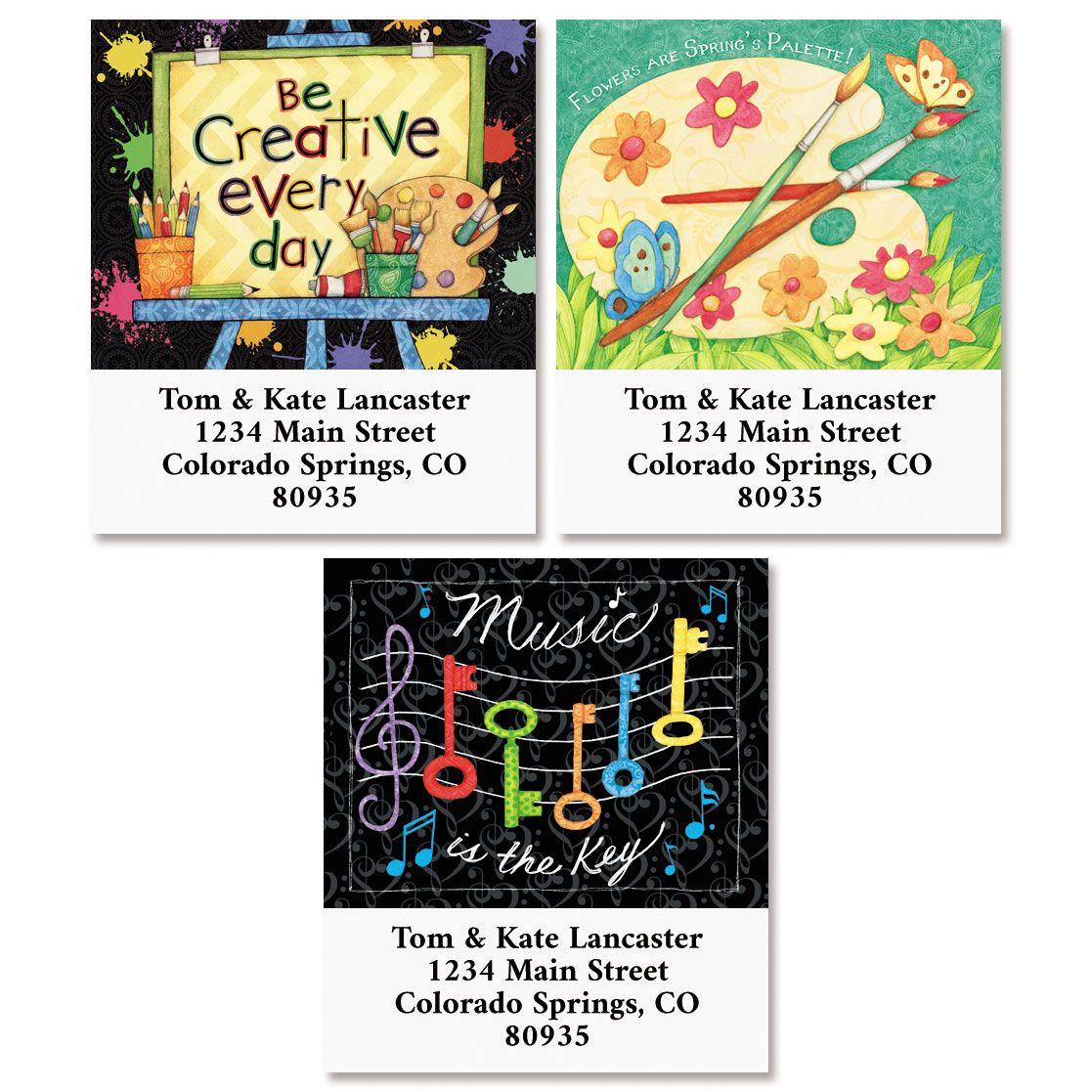 Be Creative Select Return Address Labels