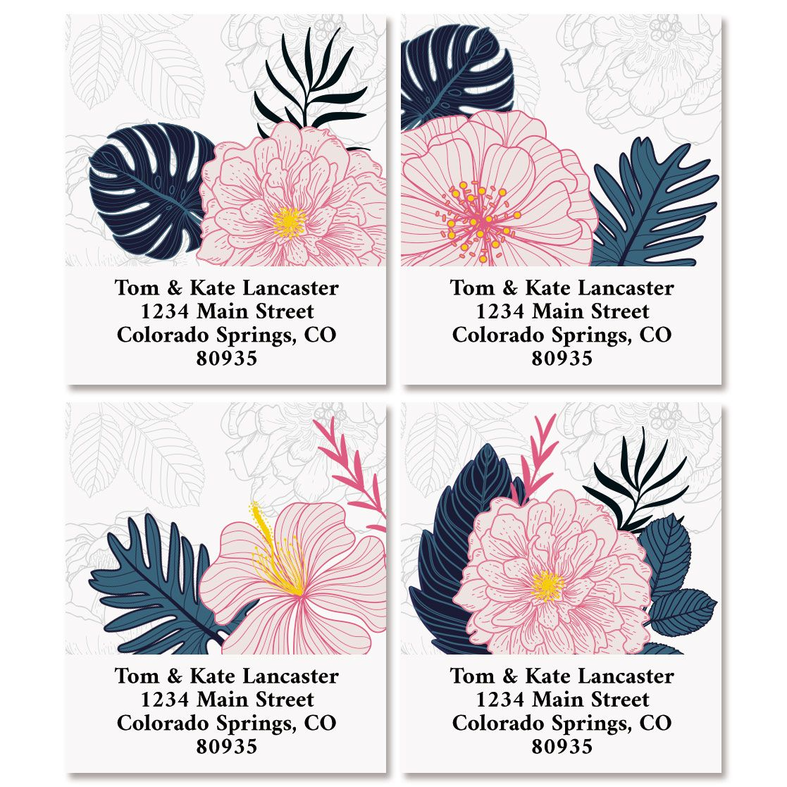 Lush Elegance Select Return Address Labels