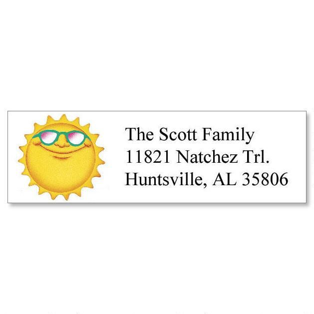 Holidays  Year-Round Classic Return Address Labels (12 Designs)
