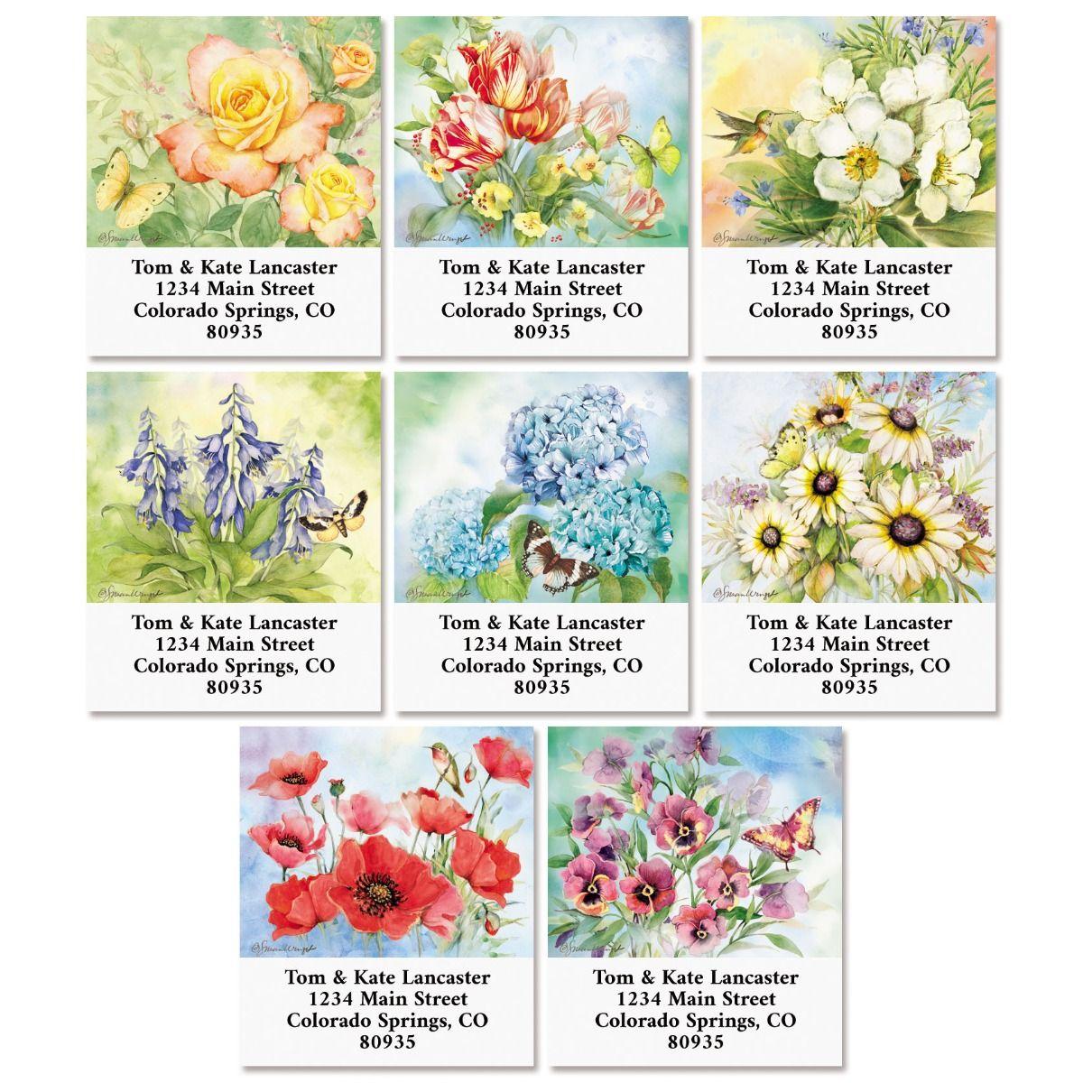 Nature's Grace Select Return Address Labels (8 Designs)