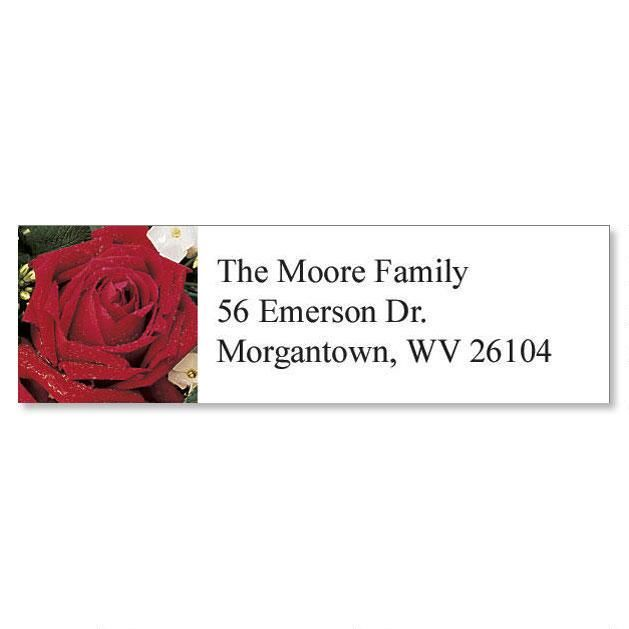 Rose Garden Classic Return Address Labels  (6 Designs)