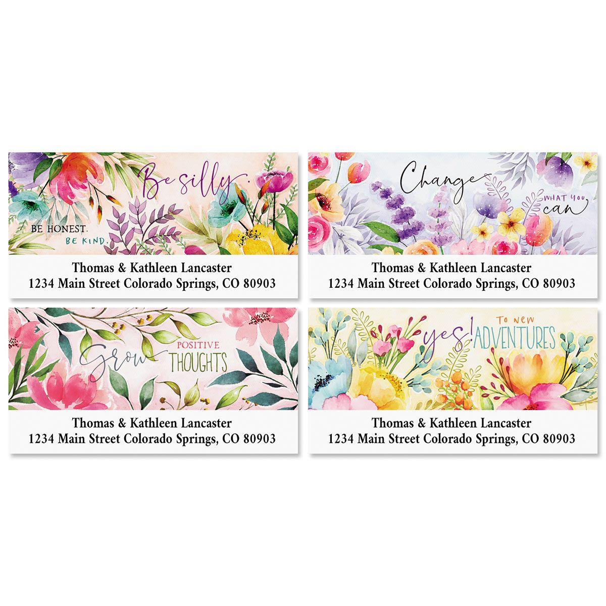 Country Pleasures Deluxe Return Address Labels (4 Designs)