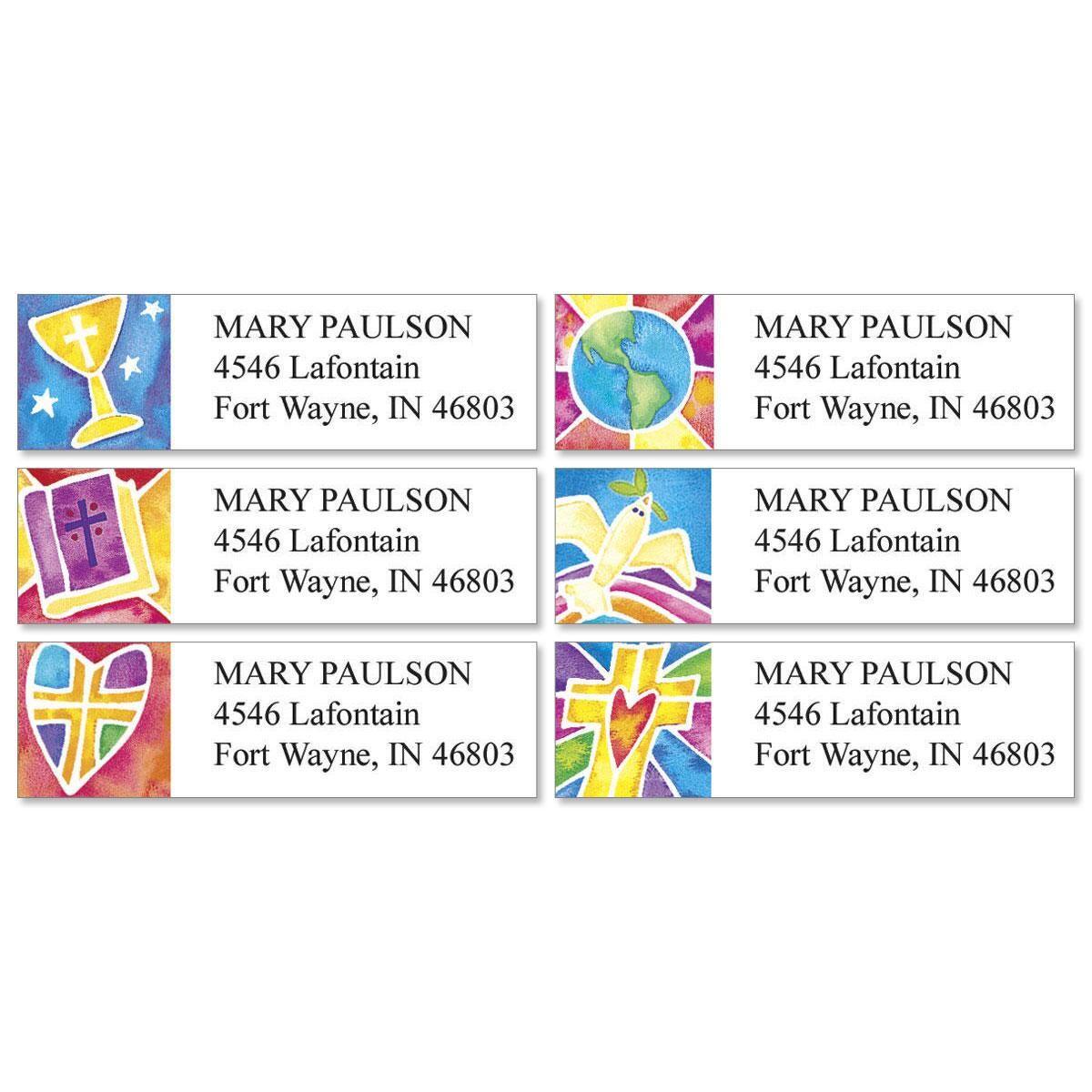 Christian Spirit Classic Address Labels  (6 Designs)