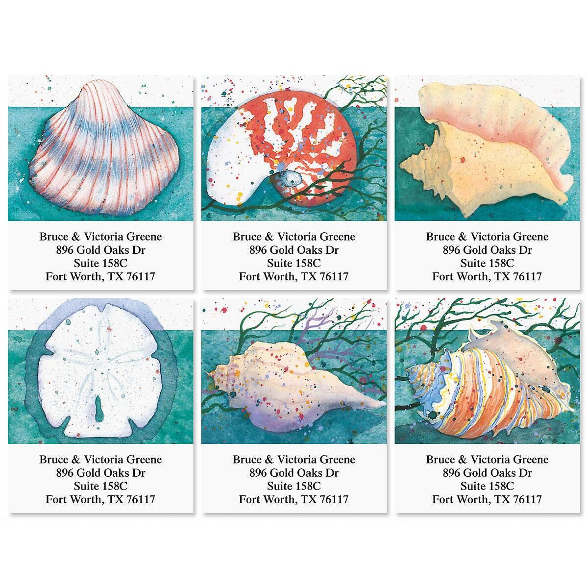 Gifts from the Sea Select Return Address Labels  (6 Designs)