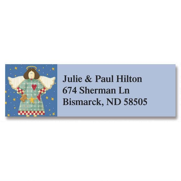 Vicky's Year-Round Classic Return Address Labels  (12 Designs)