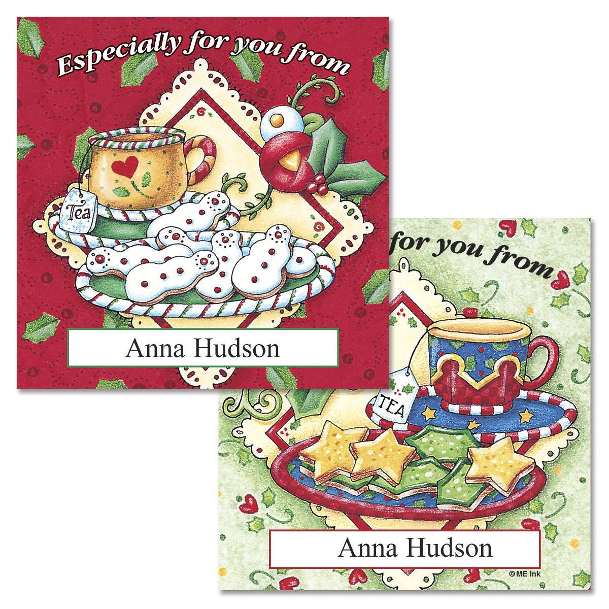 Tea and Cookies  Goodie Labels  (2 Designs)