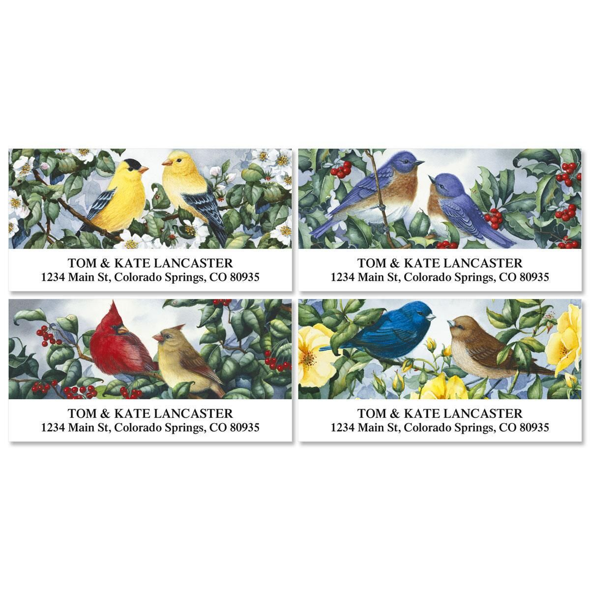 Garden Companions Deluxe Return Address Labels  (4 Designs)