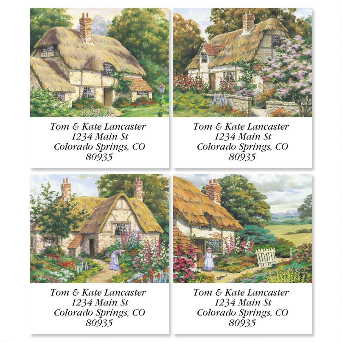 Peaceful Cottage Select Return Address Labels   (4 Designs)
