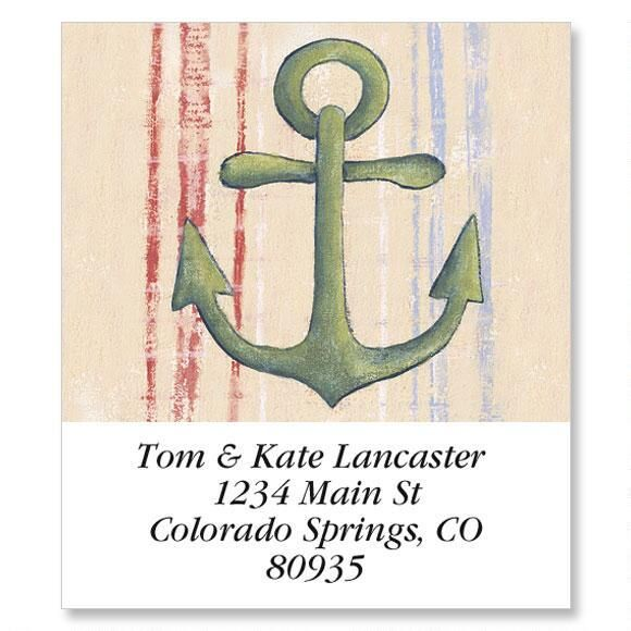 Seafarer  Select Return Address Labels  (6 Designs)