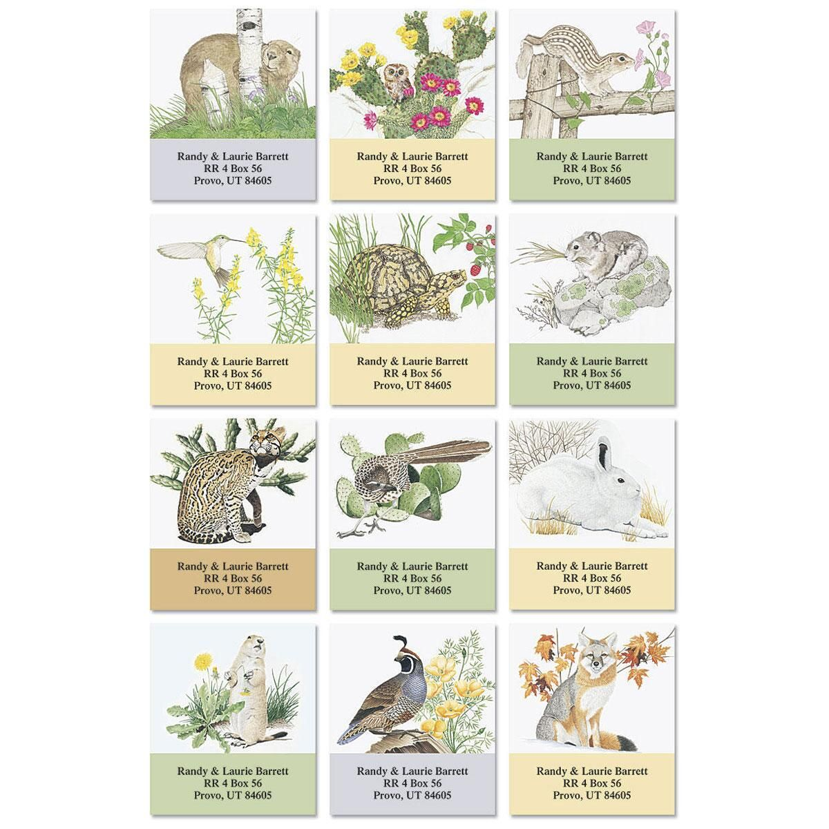 Desert Miracle Select Return Address Labels   (12 Designs)