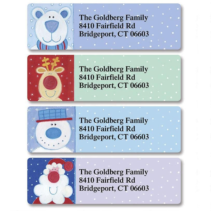 Nose for Christmas  Classic Address Labels   (4 Designs)