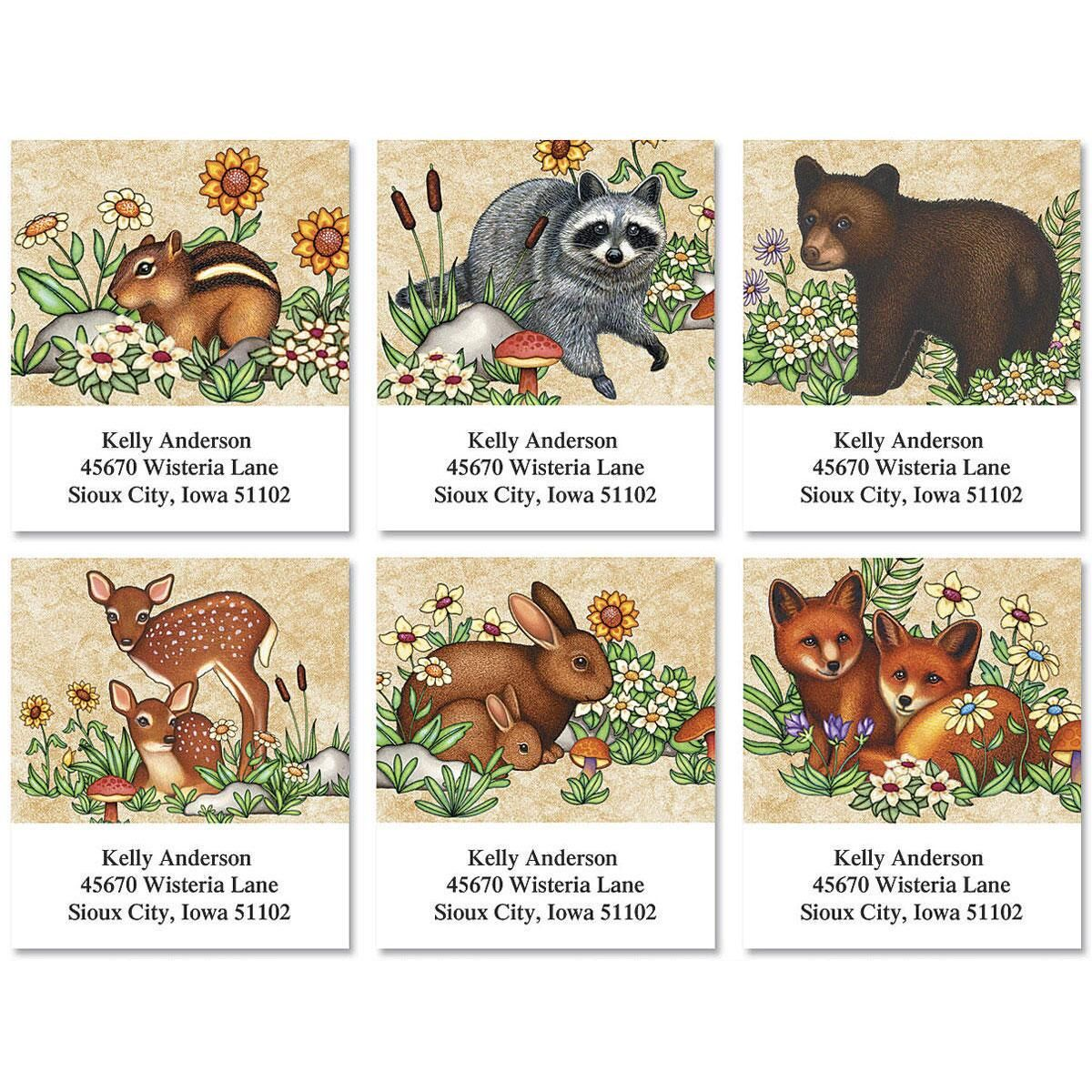 Baby Animals Select Address Labels  (6 Designs)