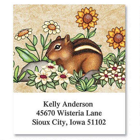Baby Animals Select Return Address Labels  (6 Designs)