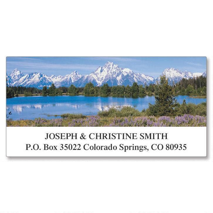 Nature's Majesty Deluxe Return Address Labels  (8 Designs)