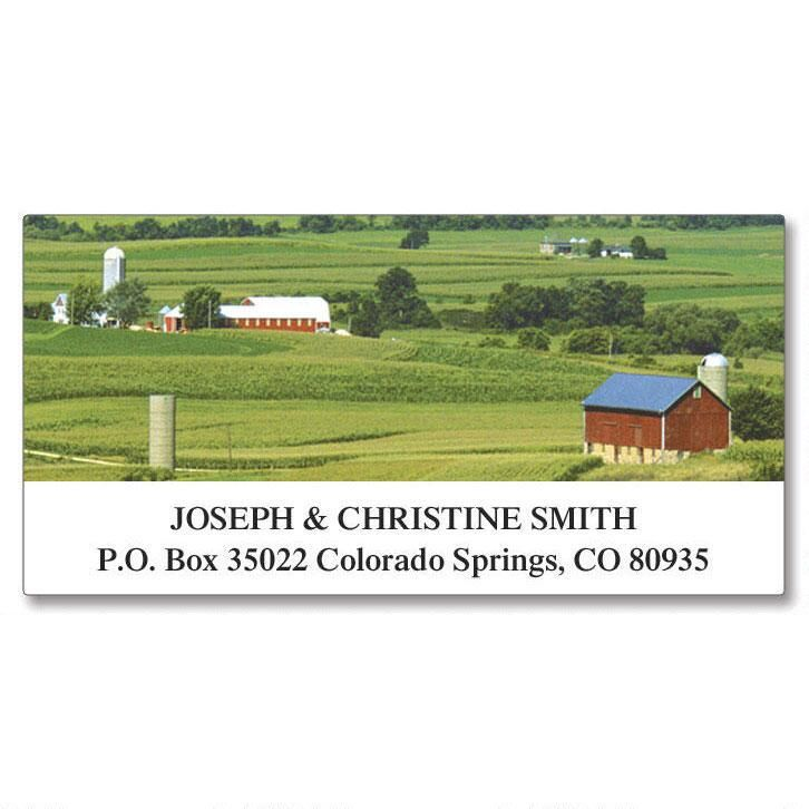 Four Seasons Deluxe Return Address Labels  (24 Designs)