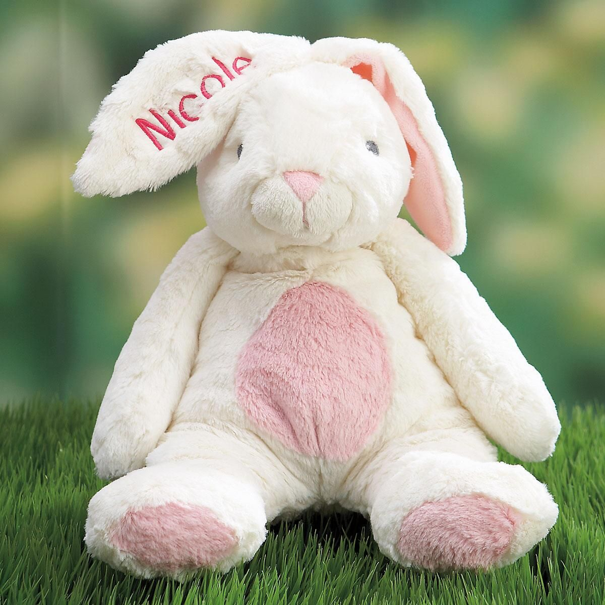 Ultra-Plush Personalized My First Bunny