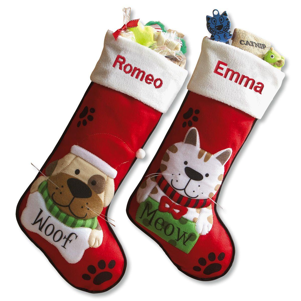 Custom Pet Christmas Stockings