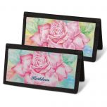 Floral Fancy Personal Checkbook Covers