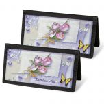 Floral Collage Personal Checkbook Covers