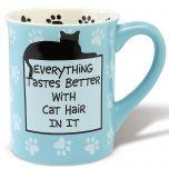 Cat Hair Novelty Mug