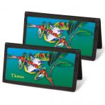 Frogs Personal Checkbook Covers