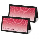Swirly Girly Personal Checkbook Covers