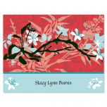 Asian Art  Personalized Note Cards