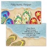 Baja Flip-Flops Double-Sided Business Cards